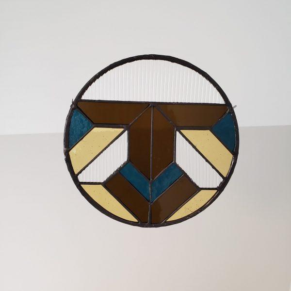 Round Geometric Suncatcher