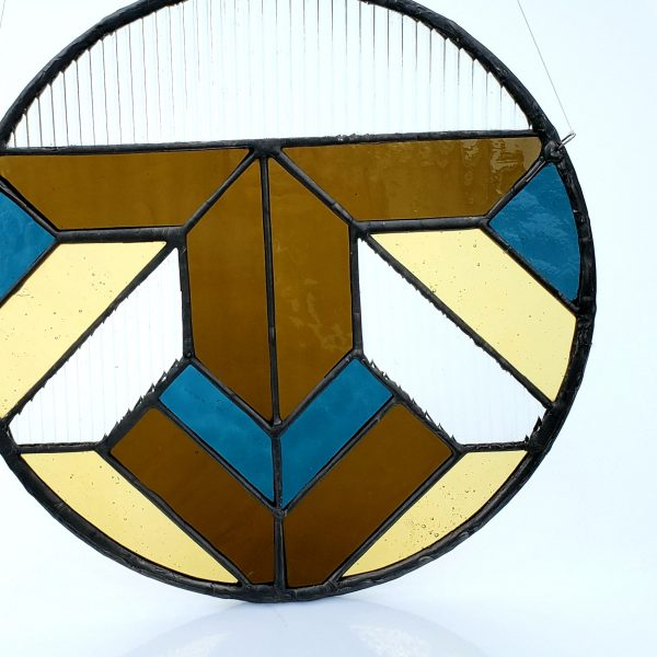Round Geometric Sun Catcher