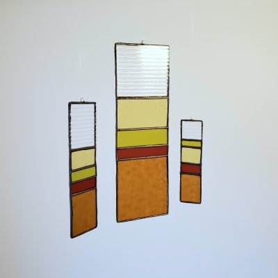 Minimalist Sun Catcher Set in Desert Color Scheme