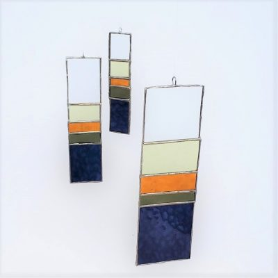 Minimalist Sun Catcher Set in Bohemian Color Scheme